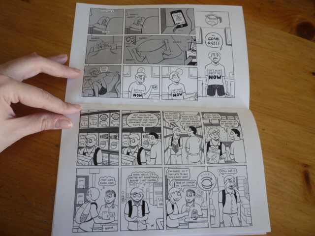 Minicomic inside